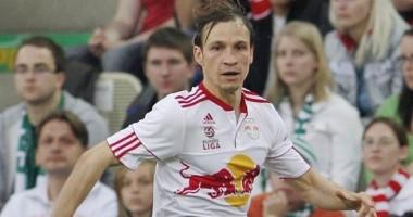 Игрок Зальцбурга надел футболку другой команды на матч Лиги чемпионов
