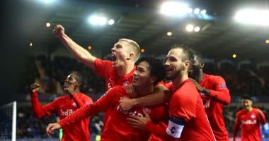 Генк - Ред Булл Зальцбург 1:4 видео голов и обзор матча Лиги чемпионов