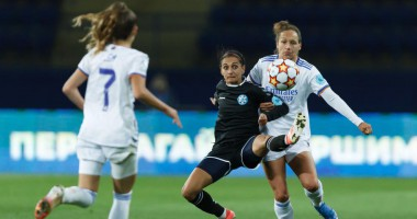 Жилстрой-1 — Реал Мадрид 0:1 видео гола и обзор матча женской Лиги чемпионов