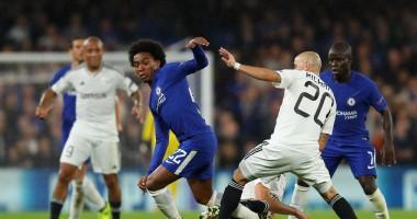 Челси - Карабах 6:0 Видео голов и обзор матча Лиги чемпионов