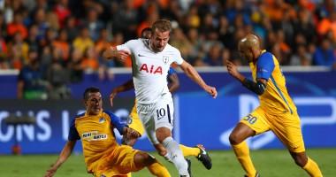АПОЭЛ - Тоттенхэм Хотспур 0:3 видео голов и обзор матча Лиги чемпионов