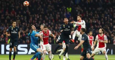 Аякс - Реал 1:2 видео голов и обзор матча Лиги чемпионов