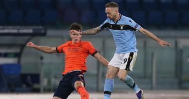 Соболь удален в 1-м тайме поединка против Лацио в Лиге чемпионов