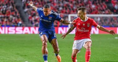 Бенфика - Лион 2:1 видео голов и обзор матча Лиги чемпионов