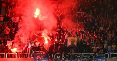 Хорватские фанаты устроили потасовку перед матчем с Аталантой