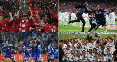 ТОП-25 лучших клубов в истории Лиги чемпионов. Часть 2