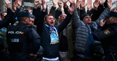 """Фанаты Наполи устроили Реалу """"веселую"""" ночь"""