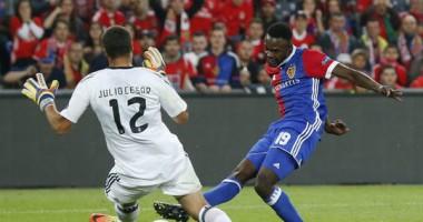 Базель - Бенфика 5:0 видео голов и обзор матча Лиги чемпионов
