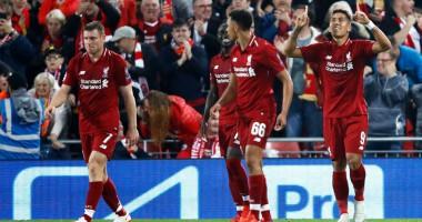 Ливерпуль - ПСЖ 3:2 видео голов и обзор матча Лиги чемпионов