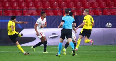 Севилья - Боруссия Дортмунд 2:3 видео голов и обзор матча