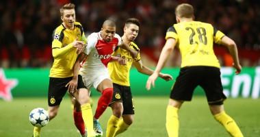 Монако - Боруссия Д 3:1 Видео голов и обзор матча Лиги чемпионов