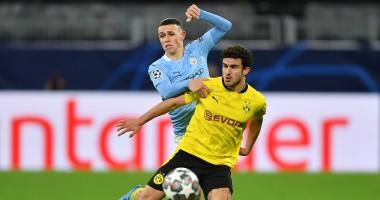 Боруссия Дортмунд - Манчестер Сити 1:2 видео голов и обзор четвертьфинала Лиги чемпионов