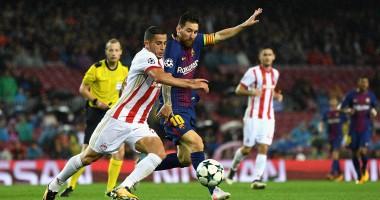 Барселона – Олимпиакос 3:1 видео голов и обзор матча Лиги чемпионов