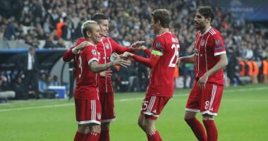 Бешикташ – Бавария 1:3 видео голов и обзор матча Лиги чемпионов