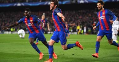 Сын Моуриньо обрадовался победе Барселоны