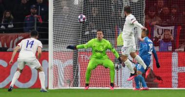 Лион - Ювентус 1:0 видео гола и обзор матча Лиги чемпионов