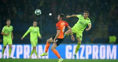 Шахтер - Динамо Загреб 2:2 видео голов и обзор матча Лиги чемпионов