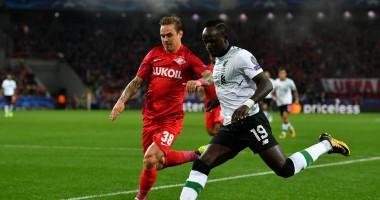 Спартак - Ливерпуль 1:1 видео голов и обзор матча Лиги чемпионов