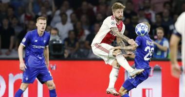 Аякс – Динамо 3:1 видео голов и обзор матча Лиги чемпионов