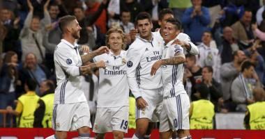 Реал - Спортинг 2:1 Видео голов и обзор матча Лиги чемпионов