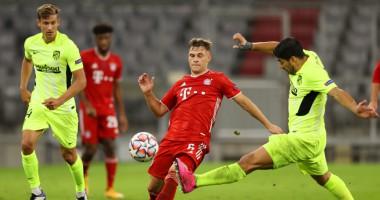 Бавария - Атлетико 4:0 видео голов и обзор матча Лиги чемпионов