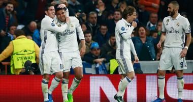 Фантастический гол молодого игрока Реала в матче с Наполи