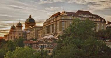 Шахтер в Швейцарии будет жить в отеле, в котором останавливалась королева Англии