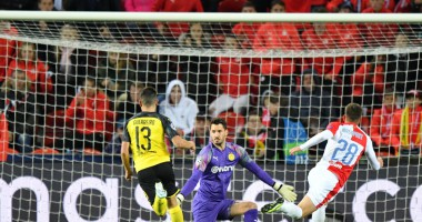 Славия - Боруссия Д 0:2 видео голов и обзор матча Лиги чемпионов
