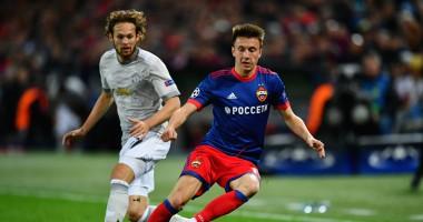ЦСКА - Манчестер Юнайтед 1:4 видео голов и обзор матча Лиги чемпионов