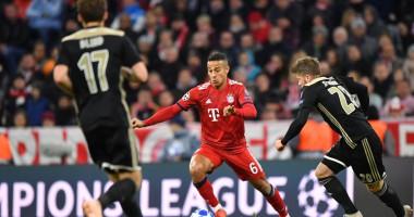 Бавария - Аякс 1:1 видео голов и обзор матча Лиги чемпионов
