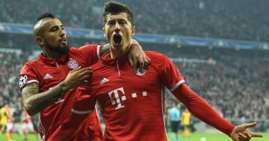 Бавария потролила Арсенал после разгрома в Мюнхене