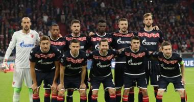 Црвена Звезда - Олимпиакос 3:1 видео голов и обзор матча Лиги чемпионов