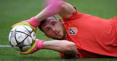 Фантастический тройной сейв вратаря Атлетико Мадрид