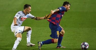 Барселона - Наполи 3:1 видео голов и обзор матча Лиги чемпионов