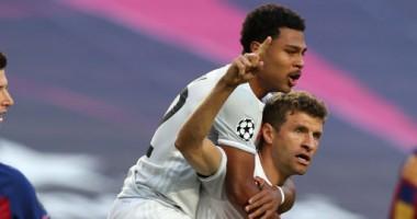 Бавария забила быстрый гол в матче с Барселоной, но пропустила спустя три минуты