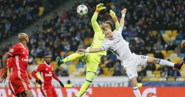 Орлы опустили нас на дно: Как Динамо дома проиграло Бенфике
