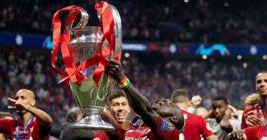 Ливерпуль - победитель Лиги чемпионов: видео церемонии награждения