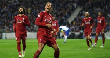 Четыре игрока Ливерпуля попали в команду недели Лиги чемпионов
