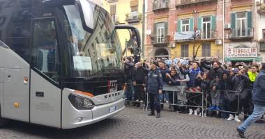 Фанаты Наполи устроили жесткий прием Реалу