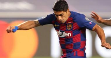 Суарес впервые с 2015 года забил за Барселону в ЛЧ вне Камп Ноу