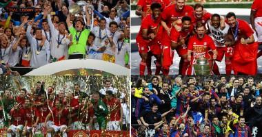 ТОП-25 лучших клубов в истории Лиги чемпионов. Часть 3