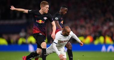 Тоттенхэм - РБ Лейпциг 0:1 видео гола и обзор матча Лиги чемпионов