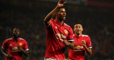 Игрок Манчестер Юнайтед отпраздновал гол в трусах от Ибрагимовича