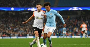 Манчестер Сити – Шахтер 2:0 Видео голов и обзор матча Лиги чемпионов