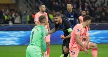 Интер - Барселона 1:1 видео голов и обзор матча ЛЧ
