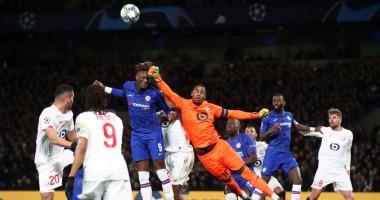 Челси - Лилль 2:1 видео голов и обзор матча Лиги чемпионов