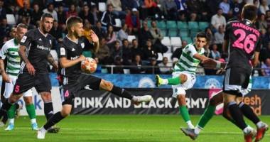 Швед: Рад, что сумел забить первый гол за Селтик