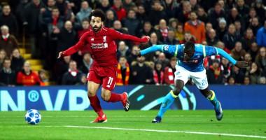 Салах, Фирмино и Мане - в стартовом составе Ливерпуля на матч против Наполи
