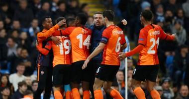 Манчестер Сити - Шахтер 1:1 видео голов и обзор матча Лиги чемпионов