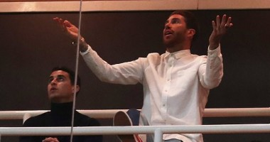Рамос снимал фильм о себе во время матча Реал - Аякс